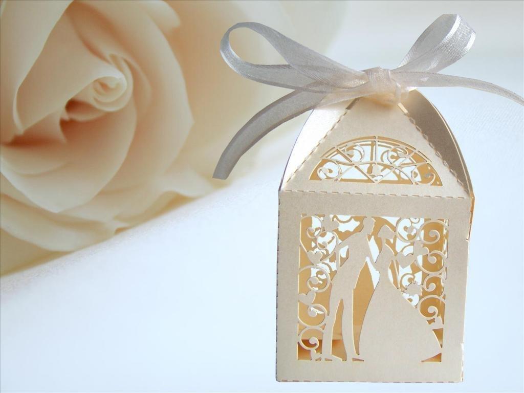 Ivory Favour Boxes: Amazon.co.uk