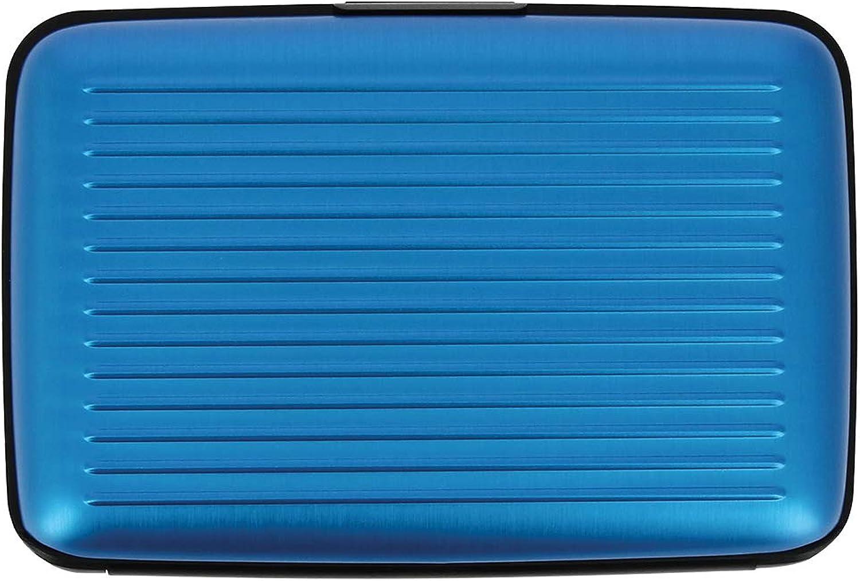 /Ögon St-Blue Porte-Cartes Stockholm Aluminium anodis/é Bleu