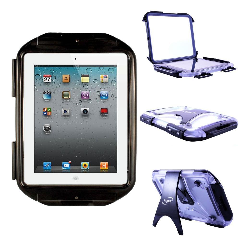 【高額売筋】 Aryca Rock Aryca B0071OWD1M iPad防水ケース ブラック Rock B0071OWD1M, 南都留郡:117b66d0 --- a0267596.xsph.ru