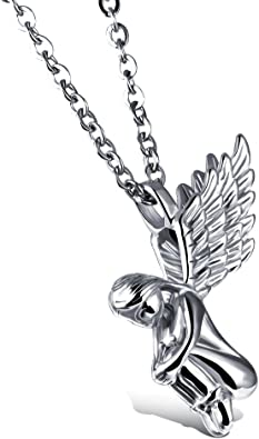 collier aile d'ange homme