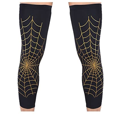 8a461f27b5 Leg Sleeve, 2 - Pack Morris Spider Web Adult Child Sport Football  Basketball Volleyball Cycling