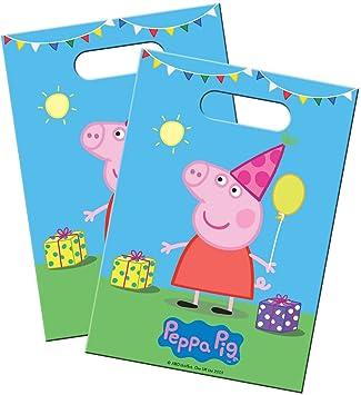 8 Bolsas de Fiesta * Peppa Pig * Cumpleaños para niños y Fiesta temática//wutz