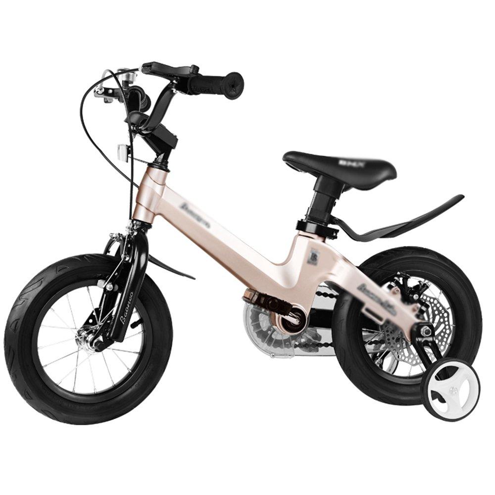 Bicicletas YANFEI Nintilde;os Talla 12-14-16-18 12-14-16-18 12-14-16-18 Gris Azul Rosa Guardabarros y Soportes estabilizadores Regalo para Nintilde;os (Color : Pink, Tamantilde;o : 12 Inch) f71daa