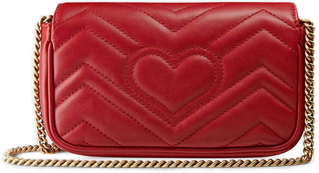Gucci GG Marmont Matelasse Leather Super Mini Bag Handbag Article 476433  DSVRT 6433 dcc6bb6419015