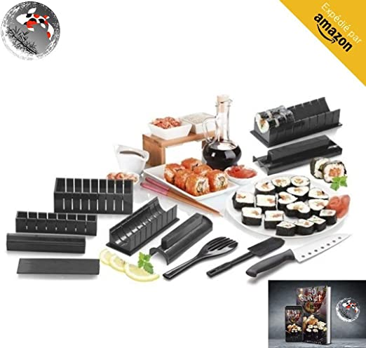Kit Para Hacer Sushi- Kit Sushi- Kit Sushi Completo + Ebook 50 ...