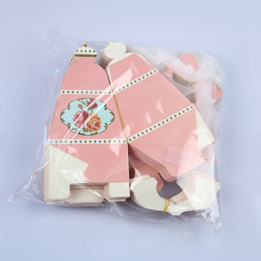 Amazon.com: IGBBLOVE 50PCS Teapot Candy Box Candy Wedding Favor ...