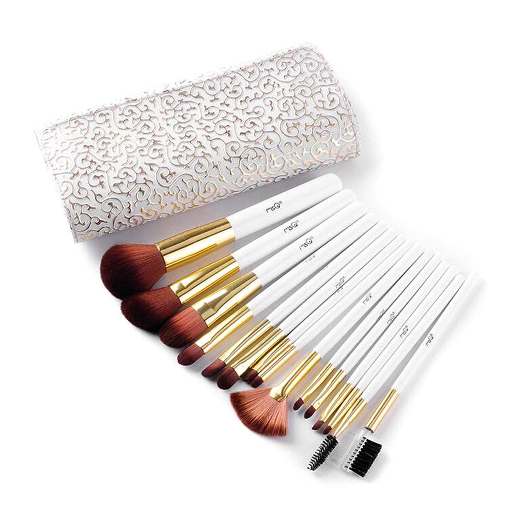 15pcs Beauty Makeup Brush Brushes with Cosmetic Bag Fashion Makeup Brush Bag Toiletry Storage Wash Handbag Foundation Eyeshadow Lip Brush Tool Diadia
