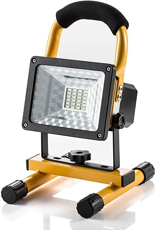 SUAVER Foco LED Proyector, Portátil Foco Proyector LED Exterior ...