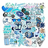 48 Pcs/Pack Stickers for Water Bottles Stickers Laptop Waterproof Stickers Pack Cute Aesthetics Stickers for Teens Girls, Perfect for Water Bottles, Phone, Travel Extra Durable Vinyl Decals (Yellow)