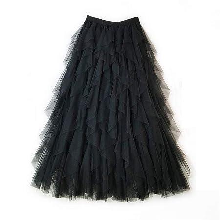 Faldas de mujer plisadas vintage Mujeres del verano con gradas ...