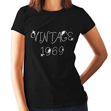 Vintage 1969 Ladies Fitted T Shirt