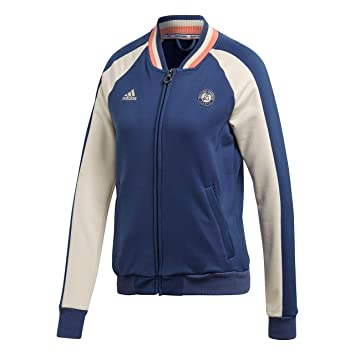 Veste zippée ADIDAS Femme Roland Garros Bleu PE 2018: Amazon