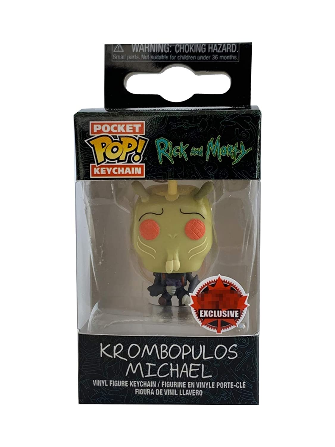 Amazon.com: Funko Pocket Pop Rick & Morty Krombopulos ...
