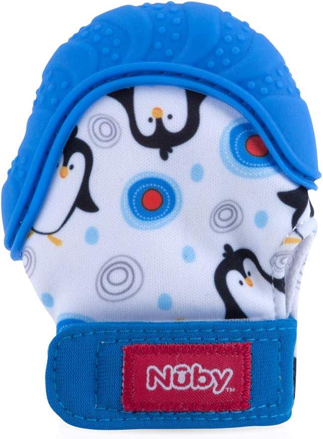 Nuby Happy Hands Teething Mitten Penguins