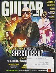 Guitar World Magazine December 2010 Joe Satriani, Iron Maiden, David Gilmour, Steve Vai Salutes Jimi Hendrix