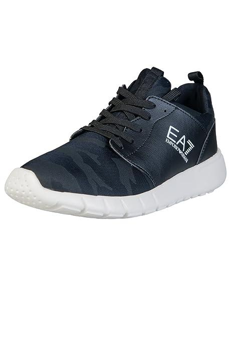 Emporio Armani - Zapatillas de Goma para Hombre Negro Negro * Negro Size: 44 2/3: Amazon.es: Zapatos y complementos