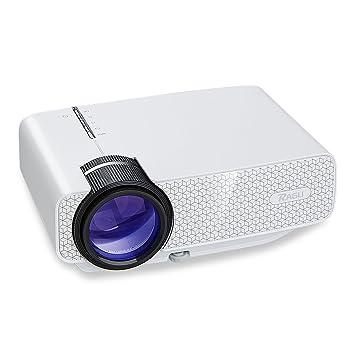 Mini Proyector, RAGU Z400 Proyector de Video Portátil Home ...