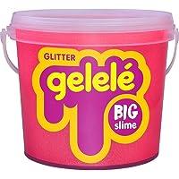 Geleca Gelelé Balde Big Slime Glitter 1,5kg