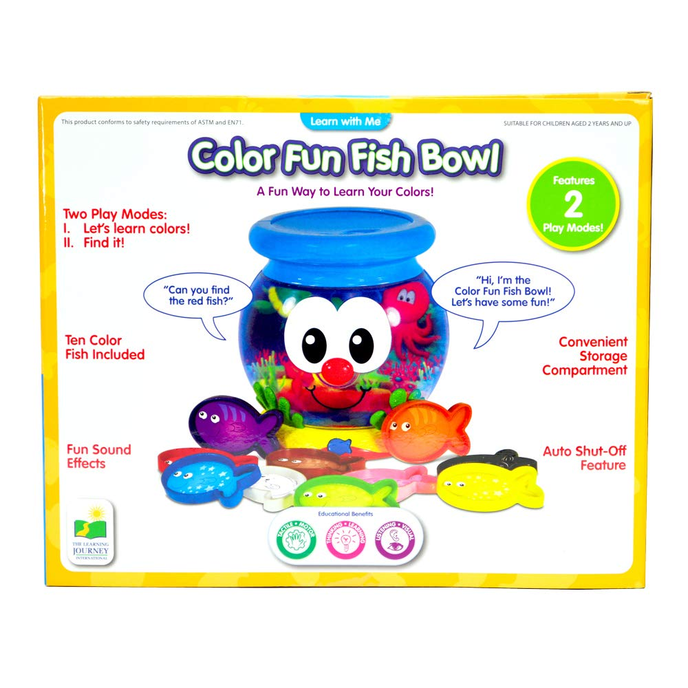 The Learning Journey Learn with Me, Color Fun Fish Bowl by The Learning Journey: (Image #5)