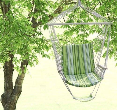 Sedie Colorate Da Giardino.Sedia Amaca Da Giardino Sedia Braccioli 1 Piazza Cotone Romantico