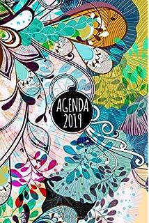 2019: Agenda o diario de 2019-un dia por pagina-fondo color ...