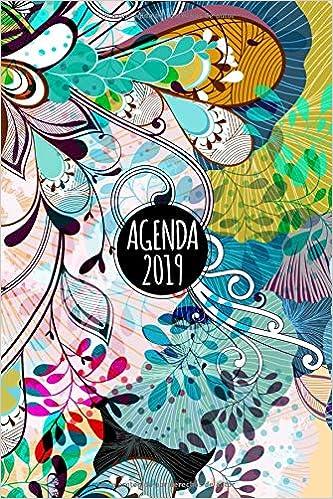 Agenda 2019: Agenda o diario de 2019-un dia por pagina-fondo ...