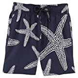 Vilebrequin Starlette Glow in The Dark Superflex Swim Shorts - Boys - Navy - 4