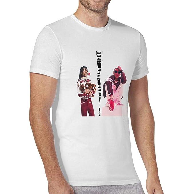 Official Mens Rae Sremmurd T Shirt Crew Neck Tee Top Short Sleeve Cotton Print