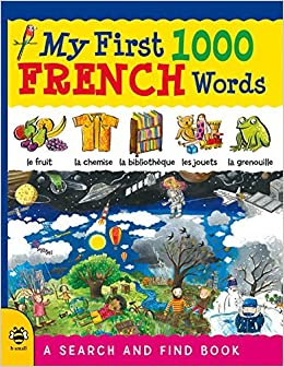 Book My First 1000 French Words: A Search and Find Book (My First 1000 Words) by Catherine Bruzzone (1-Jan-2015)