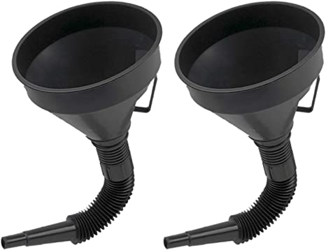 Fuel Transfer /& Lubrication//Funnels,Filling Funnel with Soft Pipe Spout Pour Oil Tool