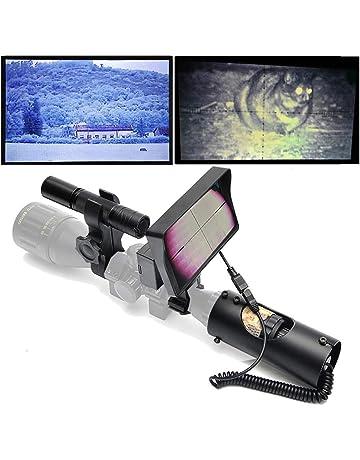 SIHEE Visor Digital de visión Nocturna para la Caza con cámara HD y Pantalla portátil