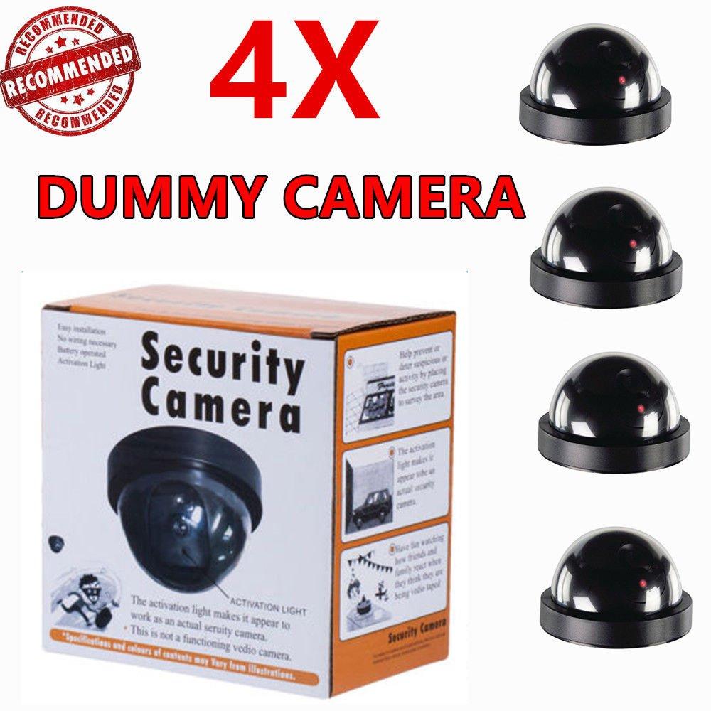 美しい ダミーカメラフェイク監視セキュリティ点滅赤色LEDライトCCTV pcs。 B07CTMJS69、4 pcs。 B07CTMJS69, ハッピーブランド:bdb08917 --- martinemoeykens-com.access.secure-ssl-servers.info
