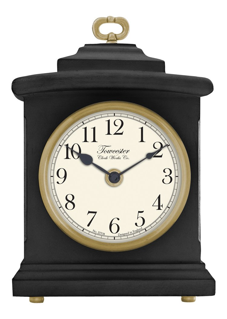 Acctim Blackheath Quartz Battery Mantle Mantel Clock with Arabic Numbers 336703