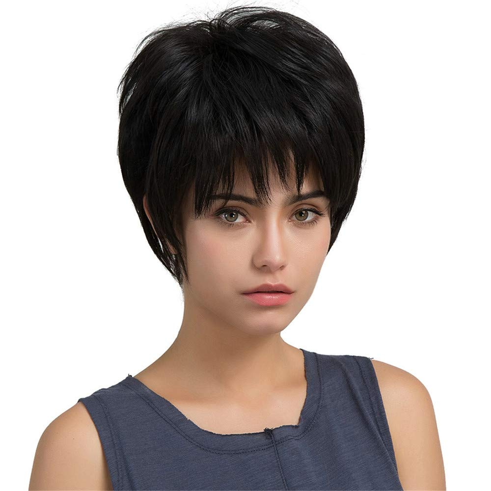 RedBrowm Real Remy Human Hair Topper Toupee Clip Hairpiece Lace Top Wig For Women 1