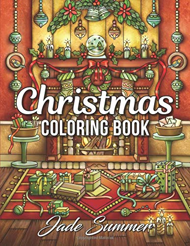 Download Christmas Coloring Book: An Adult Coloring Book with Fun, Easy, and Relaxing Coloring Pages pdf epub