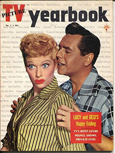 Yearbook Pictures - TV Picture Yearbook #1 1959-Sterling-1st issue-Lucy & Desi-Wally Cox-VF