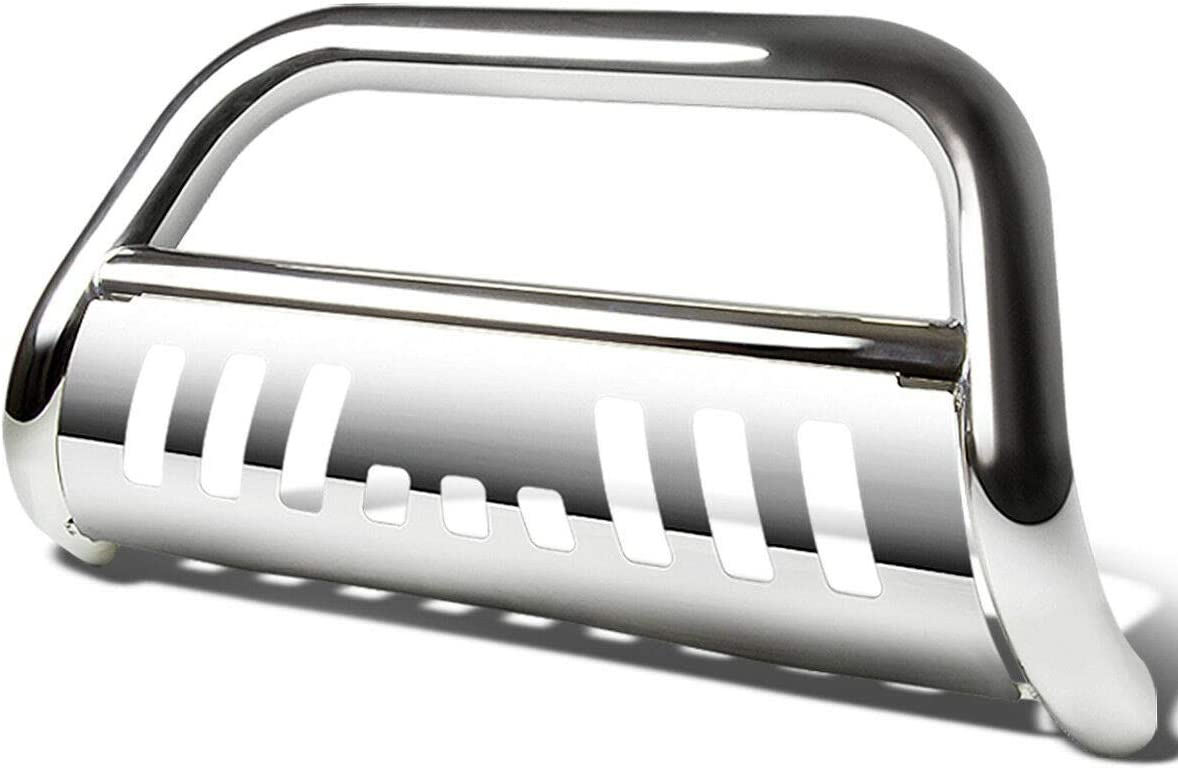 SHENGYAWAUTO Chrome Bull Bar Bumper Grille Guard For 2005-2015 TACOMA Truck 2WD//4WD