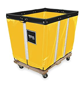 Basket Truck, 10 Bu. Cap., Yellow, 36 In. L