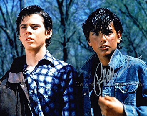 RALPH MACCHIO as Johnny Cade - The Outsiders GENUINE AUTOGRAPH from Celebrity Ink