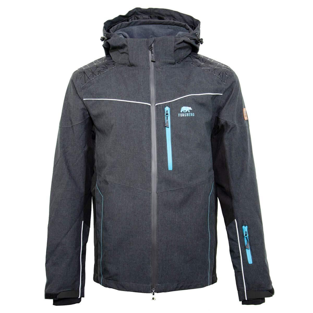 Funktionsjacke hochwertig Herren langlebig Winddicht wasserdichte Jacke FORSBERG Wetterschutzjacke atmungsaktiv Skinn ZipIn für 3L5AR4j