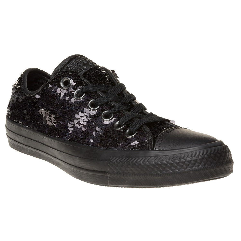 748dc562718 Converse All Star Ox Femme Baskets Mode Noir durable service ...