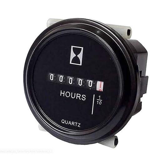 Display Voltage Volt Meter Tools 52mm Trek Tractor Stainless