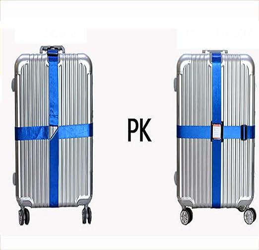 f1de97f139ec Amazon.com: ZLQF Long Cross Luggage Straps Suitcase Strap Travel ...
