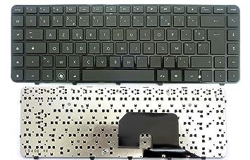 Teclado Azerty Francés negro para ordenador portátil HP COMPAQ Pavilion DV6 - 3000: Amazon.es: Informática
