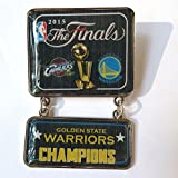 2015 NBA Champs Dangle Pin - Golden State Warriors