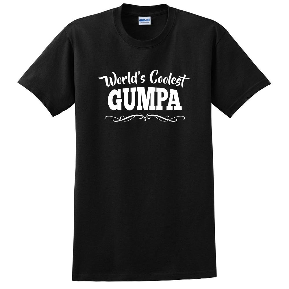 keeponprint Worlds Coolest Gumpa Funny Gift Ideas Grandparents Day t Shirt