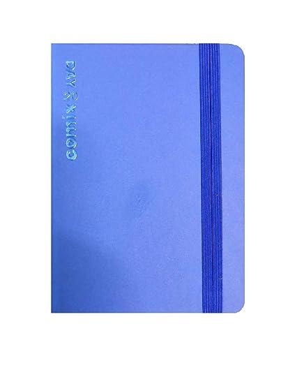 Agenda 2020 giornaliera formato 11 /× 16,5 cm colore blue