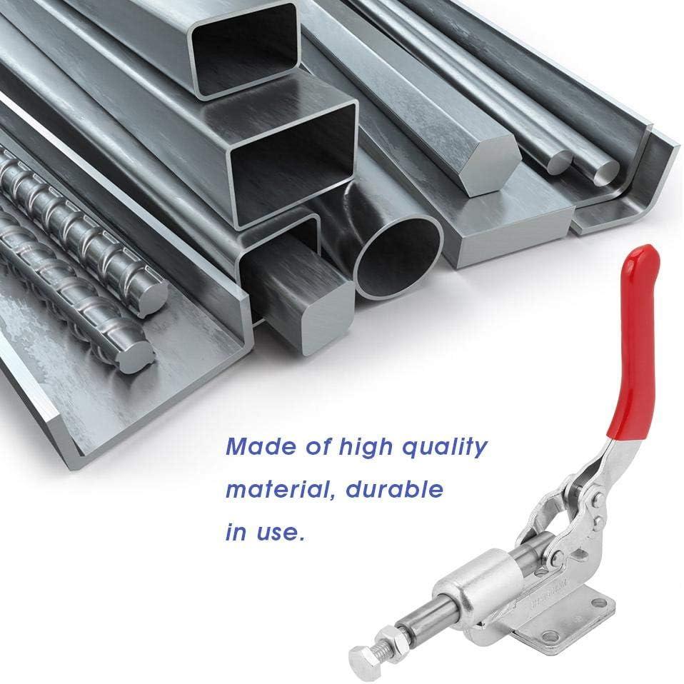 GH-302-FM Vertikale Kippklemme Kippklemme Handkippklemme Schnellverschlusswerkzeug Handwerkzeugkippklemme f/ür die Verarbeitung GH-305-CM