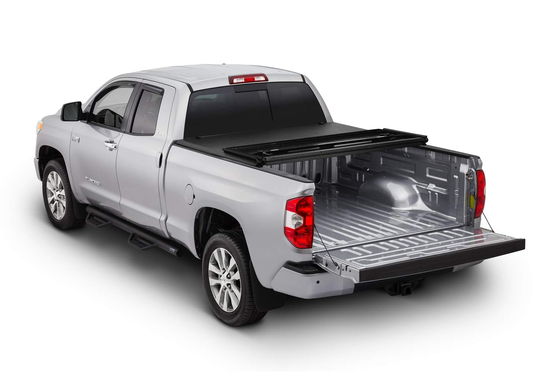 Fits 5 Bed Tonno Pro Tonno Fold 42-511 TRI-FOLD Truck Bed Tonneau Cover 2016-2018 Toyota Tacoma