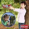 Kidzlane Infrared Laser Tag Game - Set of 2 Blue/Red - Infrared Laser Gun Indoor and Outdoor Activity. Infrared 0.9mW by Kidzlane